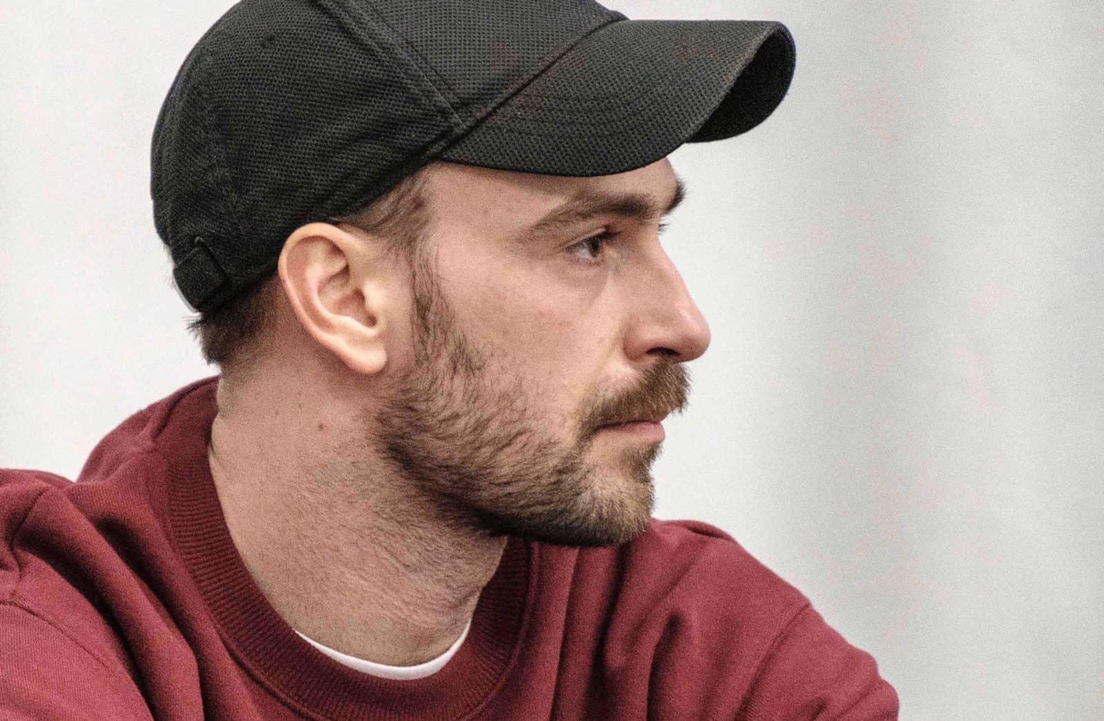 Portrait des Choreographen Diego Tortelli während der Probe von Shifting Perspektive. Foto: (c) Franz Kimmel