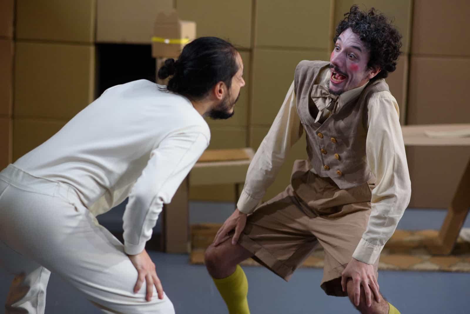 Foto aus dem Stück PayPer Play von Andrea Costanzo Martini, Foto: Yair Meyuhas